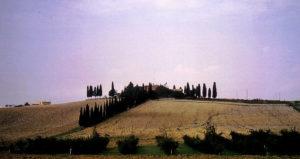 Abendstimmung in der Toscana